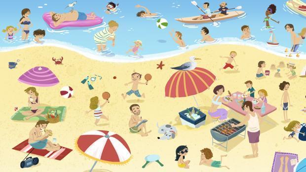 Consejos para no perder a un niño en la playa (ni en ningún sitio)