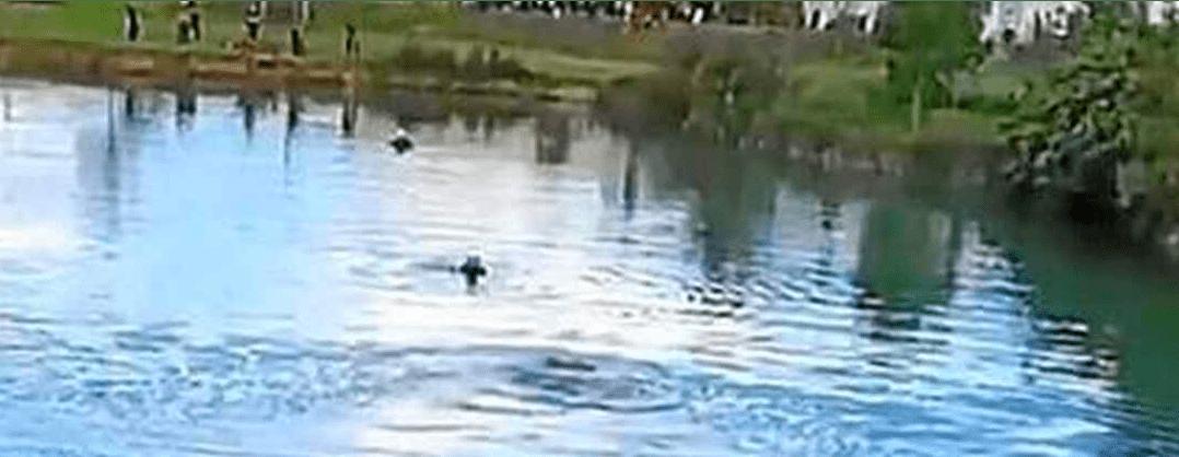 Adolescente ahogado enn laguna