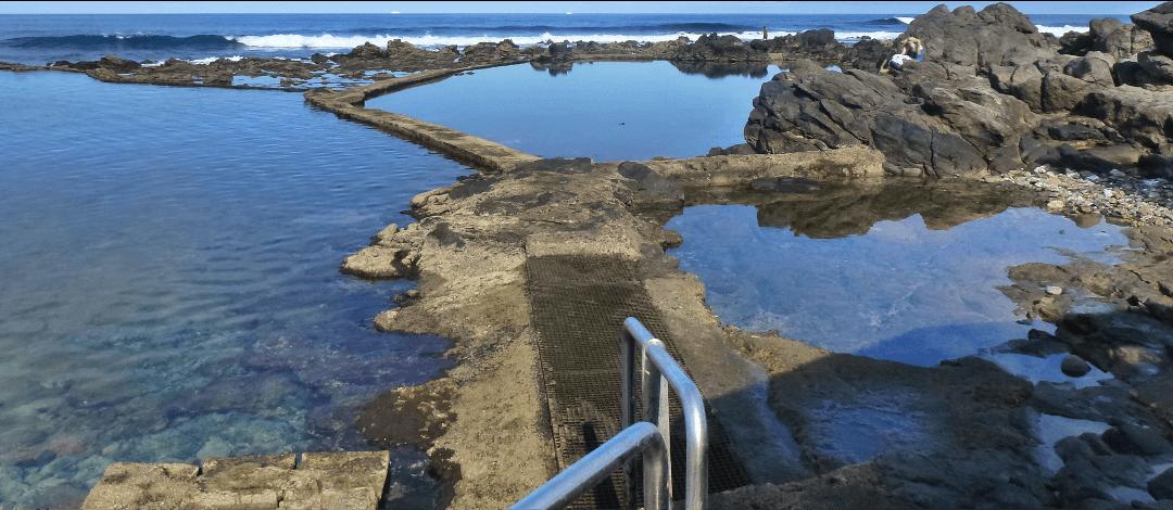 Niño ahogado en piscinas naturales