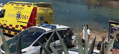 Muere un niño mientras bucea en Ibiza